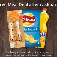 Free Meal Deal after Cashback!