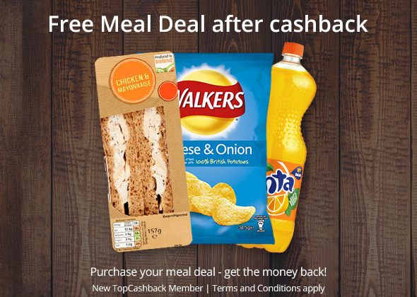 Free Meal Deal after Cashback!