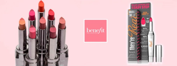 Free 'They're Real! Double The Lip' from Benefit