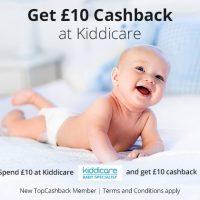 £10 Cashback at Kiddicare
