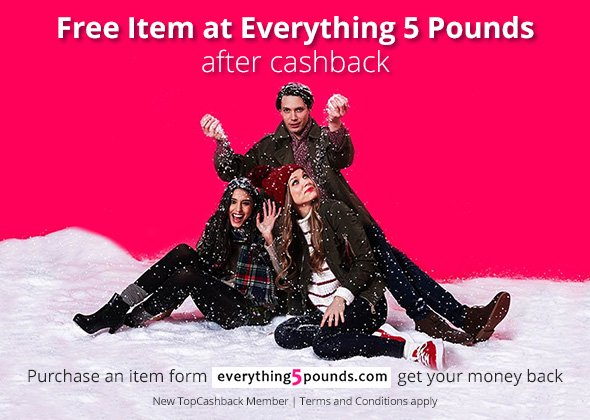 Free Item at Everything 5 Pounds