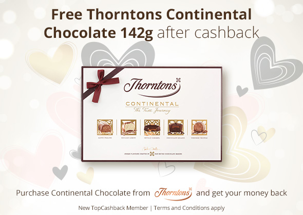 Free Thorntons Continental Chocolates
