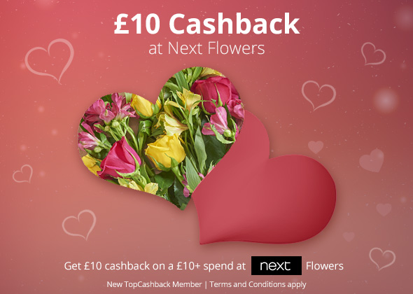 £10 Cashback at Next Flowers