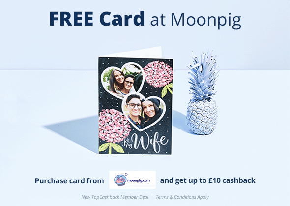 Free Card at Moonpig