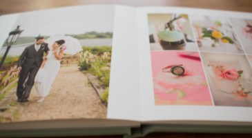Win a Personlised Photo Book of Your Wedding Day!