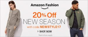 20% Off New-Season Fashion - ENDS TODAY