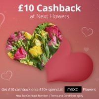 £10 Cashback at Next Flowers